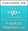 Naomi Cook Featured on Franklin Planner