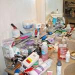 Bathroom Organizing