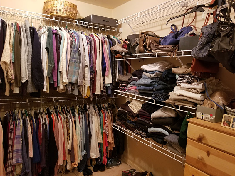 Closet Organization After 2