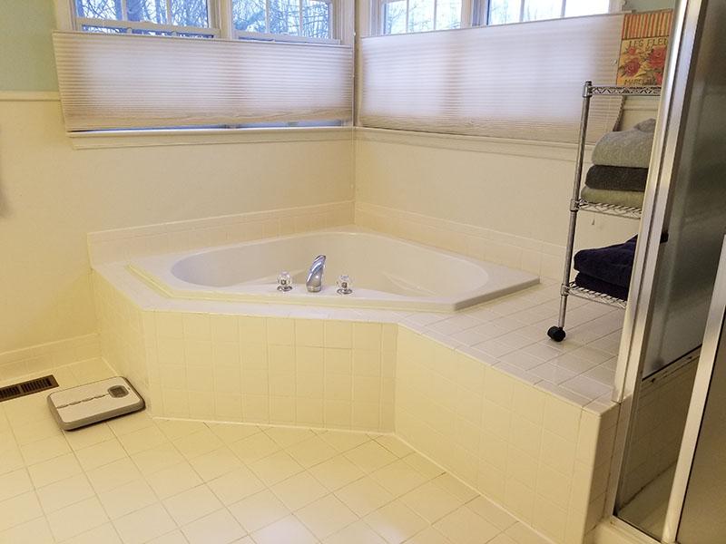 Bathroom Reorganized After