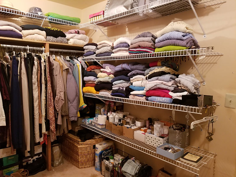 Closet Organization After 3