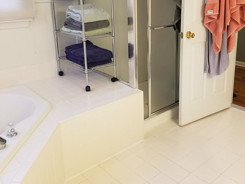 Bathroom Reorganized