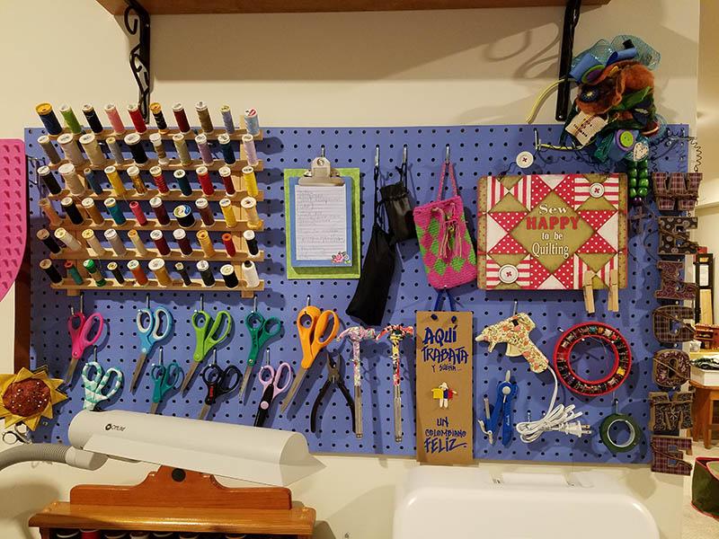 Craft board Organization After