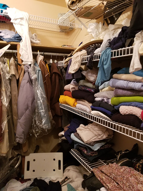 Closet Organization Before 3