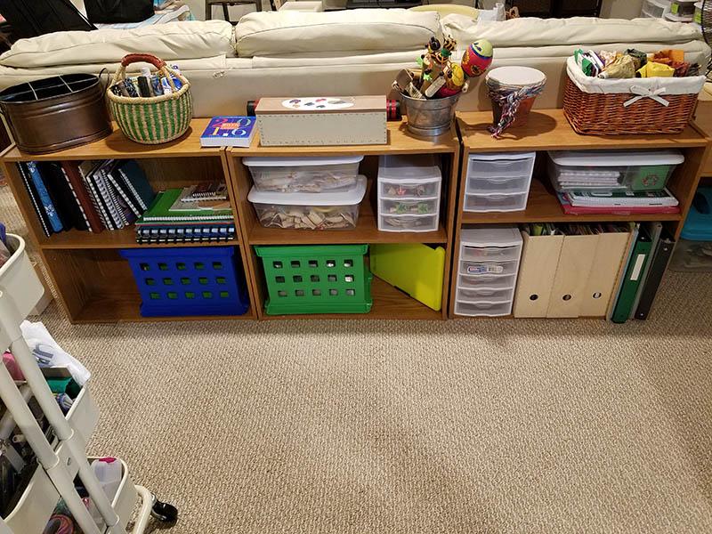 craft room Organization After